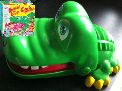 Krokodil met kiespijn (MB Spellen)