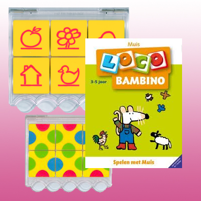 Loco Bambino Pakket Spelen met Muis