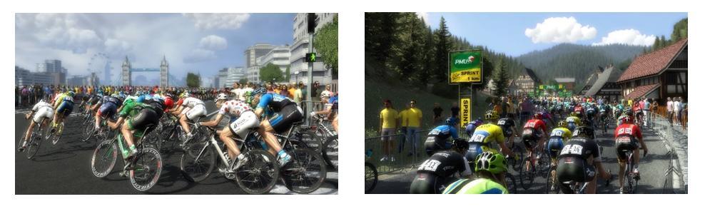 Screenshots Tour de France op PS4