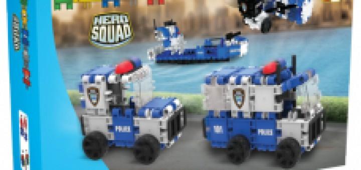 Recensie Clics Toys Hero Squad Politie 8 in 1