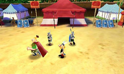 Recensie Asterix De Romeinse Lusthof Screenshot