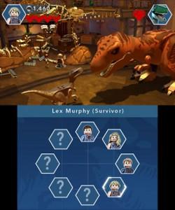 Recensie LEGO Jurassic World 3DS Screenshot