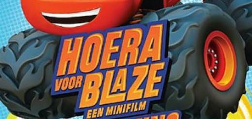 Win actie DVD Blaze en de Monsterwielen
