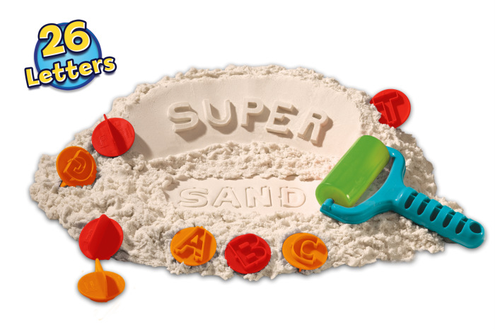 Recensie Super Sand Suitcase ABC Letters