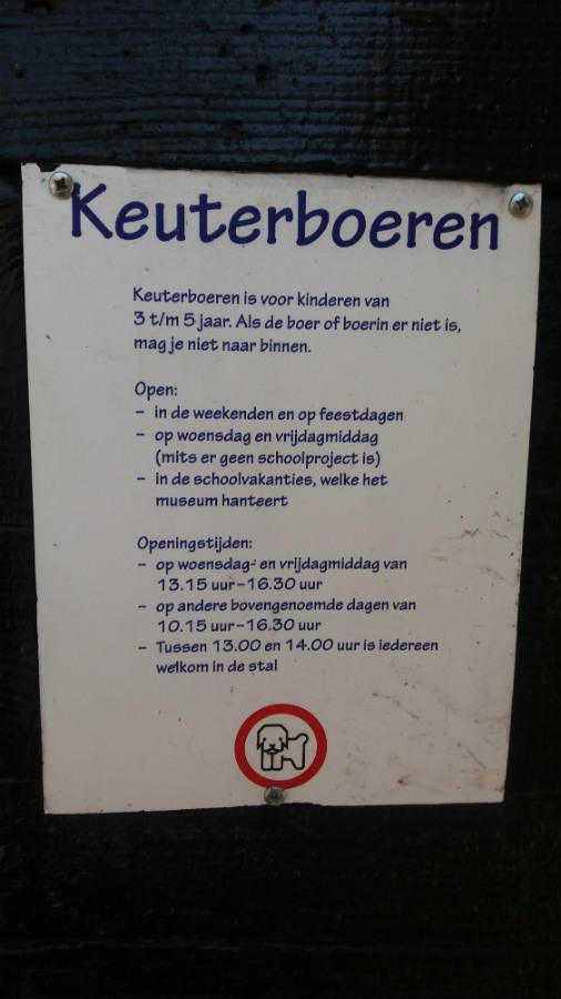 Nederlands Openluchtmuseum te Arnhem Keuterboeren