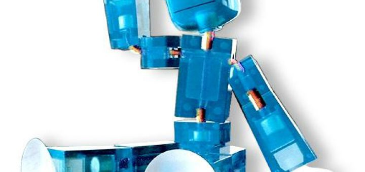 Stikbot Blauw Transparant