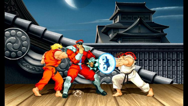 Ultra Street Fighter II - Screenshot