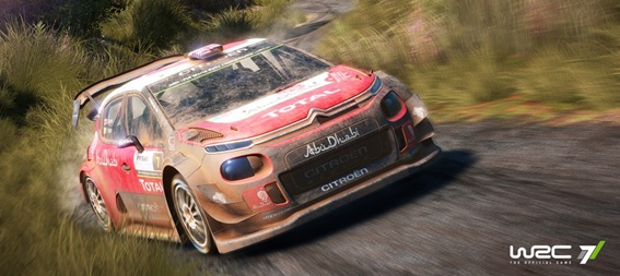 WRC 7 Screenshot