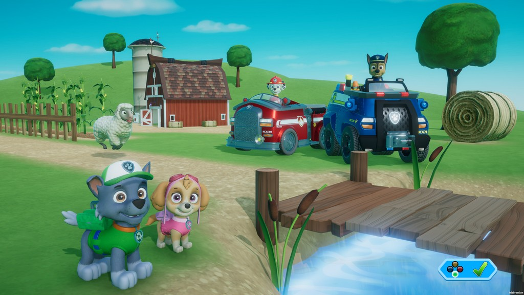 Game PAW Patrol - On a Roll Screenshot