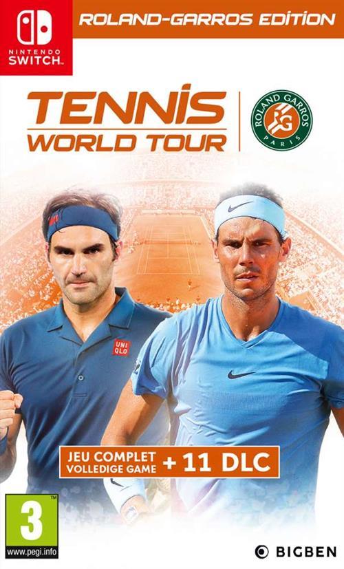 Recensie Tennis World Tour Roland-Garros Edition